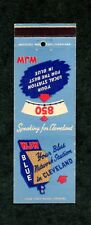 Radio Station WJW Cleveland OH Unused Front Strike Matchcover Matchbook Cover