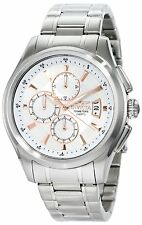 Invicta Men's 45mm Specialty Chronograph Silver Dial Stainless Steel Watch 1481