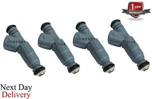 x4 FUEL INJECTOR for VAUXHALL OPEL ASTRA V H ZAFIRA II 2.0 VXR 0280156280 fitted