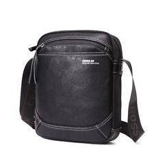 Men's Shoulder Bag Daily Messenger Crossbody Bag Black Shoulder Sac Casual