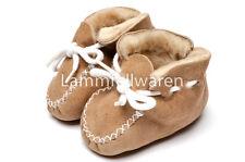 Babyschuhe - ECHT LAMMFELL - natürlich warm im Winter