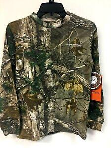 Field & Stream Youth Long Sleeve Realtree Xtra Tee Shirt Size L - 9P_07