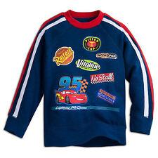 Disney Store Pixar Cars Lightning McQueen Sweatshirt For Kids Boys/Girls 3T