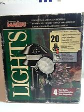 INTERMATIC MALIBU LIGHTS LX19720T 20 Lights Set of Tier & Floodlights Open Box