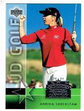 Annika Sorenstam 2004 National Trading Card Day  10 Card Lot