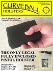 Shoot Thru Curveball Wallet Holster for the LCP/ P3AT .380 (Ruger/ Kel-Tec)