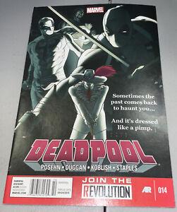 Deadpool #14 Marvel 2013 Newsstand Variant Kris Anka Cover