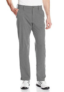 Under Armour Golf Men's Steel Gray UA Match Play Vented Straight Fit Pants