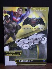 DC Batman vs Superman Batmobile Metal Earth model kits 3D Fascinations