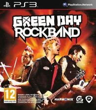 Ps3 Green Day Rock Band S* Guitar Music Game Rockband PlayStation 3 PAL