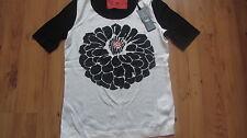 Shirt Bluse Luisa Cerano Gr. 38 schwarz /weiss NEU