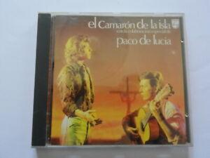 EL CAMARON DE LA ISLA Paco De Lucia CD Musica Collezione