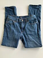 J Crew The Driggs Slim Straight Leg Mens Size  Blue Jeans 31x32
