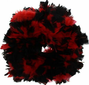 Zac's Alter Ego® Vibrant Two Tone Heavy Feather Boas  - Great for Burlesque
