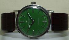 VINTAGE Favre Geneve Seachief Winding Watch Swiss STEEL r741 old Used Antique