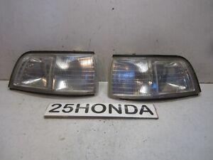 1992-1994 Acura Vigor Koito Custom Clear Corner Lights OEM JDM Rare CC2 CC3