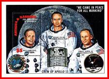 SPACE = APOLLO 11 CREW  S/S MNH ** (WE HAVE A SET of MATCHING STAMPS ALSO)