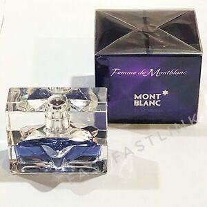 MONT BLANC FEMME DE MONTBLANC  30ml EDT SPRAY WOMENS PERFUME...SEALED BOX