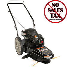 Walk Behind Weed Bush Eater Wheeled String Trimmer Lawn Mower NEW