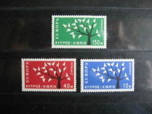 BA4, CEPT-Europa, Satz, ZYPERN, 1962, Postfrisch/MNH/**, Mi € 40