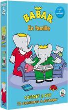 Babar en Famille Vol 1 et 2 Coffret 2 DVD NEUF sous cellophane
