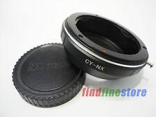 Contax Yashica CY C/Y Lens to Samsung NX Adapter NX210 NX200 NX300 NX1000 + CAP
