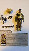 GI JOE 1985 Mountain Trooper ALPINE Complete with Filecard Action Figure