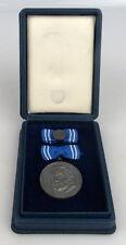 Clara Zetkin Medaille in 900 Silber im Etui, vgl. Band I Nr. 128 b, Orden1276