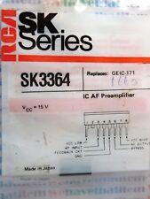 SK3364 / IC / SIP / COMPARABLE TO ECG1660, NTE1660, GEIC171 / 2 PIECES (qzty)