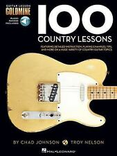 100 Country Lessons - Guitar Lesson Goldmine Series (Book/CD), Nelson, Troy, Joh
