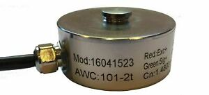 Pancake Load cell 2t capacity - One year Warranty
