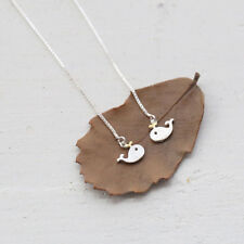 Dolphin Jewelry Fashion Hypoallergenic Silver Earrings Long Line Little Whale