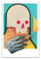 """Michael Reeder Reederone Bobby with the Big Hand 20"""" x 30"""" Print Edition Size 75"""