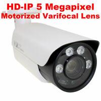Used Camera GW562HD 5MP Coaxial Analog Varifocal CCTV Bullet Security Camera