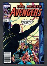 Avengers #242 Marvel Comics VF/NM 1983 Hawkeye + RARE .75 Canadian Price Variant