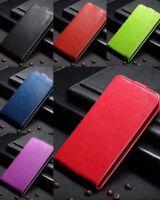 Funda piel sintetica vertical soporte carcasa Huawei Ascend P8 Lite 2015.P8 Mini
