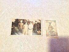 2 RARE WORLD War One Soldier full uniform during war & medals After war LOT