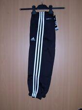 adidas Kinder Trainingshose Sporthose schwarz 92 104 116 128 140 climalite neu