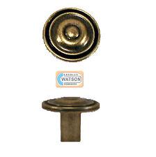 35mm Ancien En Bronze Circulaire Détail Poignée Bouton Porte De Placard Tiroir