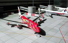 Dragon Wings 1/400 Malaysia Airlines b747 Hibiscus metal avión modelo 55519 n