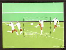 Brazil Sc 1351 Mnh. 1974 World Cup Soccer, Munich S/S. Sports