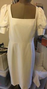Antonio Melani beige dress sz 14 new but tags fell off