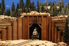 G SCALE TRAIN PORTAL FOR USE w LGB ACCUCRAFT 1:29 - 1:20.3 TRACK & LOCOMOTIVES