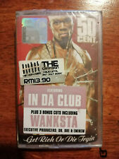 50 Cent - Get Rich Or Die Tryin' - Malaysia Original Press Cassette (Brand New)