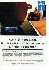 PUBLICITE ADVERTISING 126  1996   Gaz de France   gaz naturel