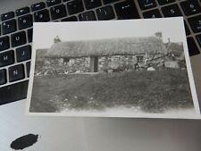 More details for postcard  p7 j49  old croft possibly skye  superb image  detailed photo