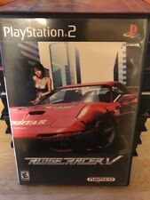 Ridge Racer V (Sony PlayStation 2, 2000) PS2 Video Game (CIB)