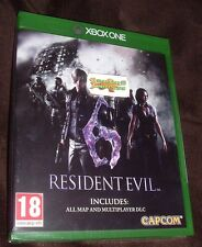 Resident Evil 6 HD Remake XBOX ONE XB1 NEW SEALED FREE UK p&p
