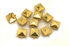100 x Copper Studs with Prongs - Leather Crafts Costumes Bags Belts Shoes, 2188