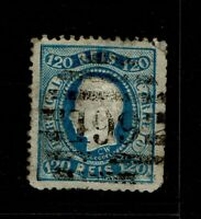 Portugal SC# 46, Used, side tear, top corner thin - S6556